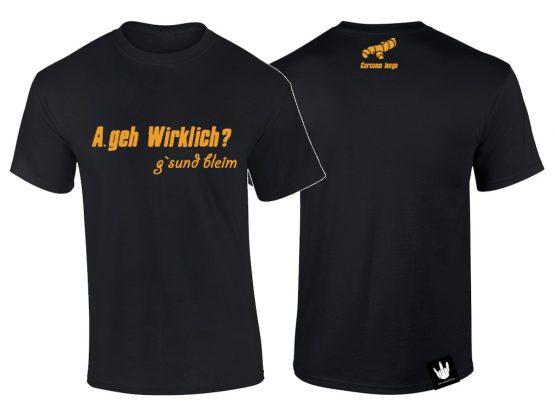 A.geh Shirt gsund bleim