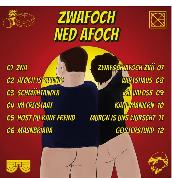 ZNA - zwafoch ned afoch Back Cover